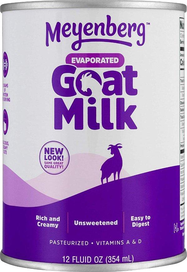 全脂山羊奶液体奶 12盎司 12罐