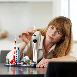 低至7折LEGO 建筑系列 收绝美城市天际线