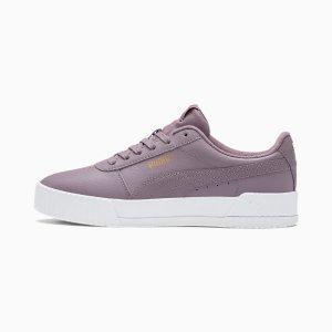 Puma香芋紫板鞋