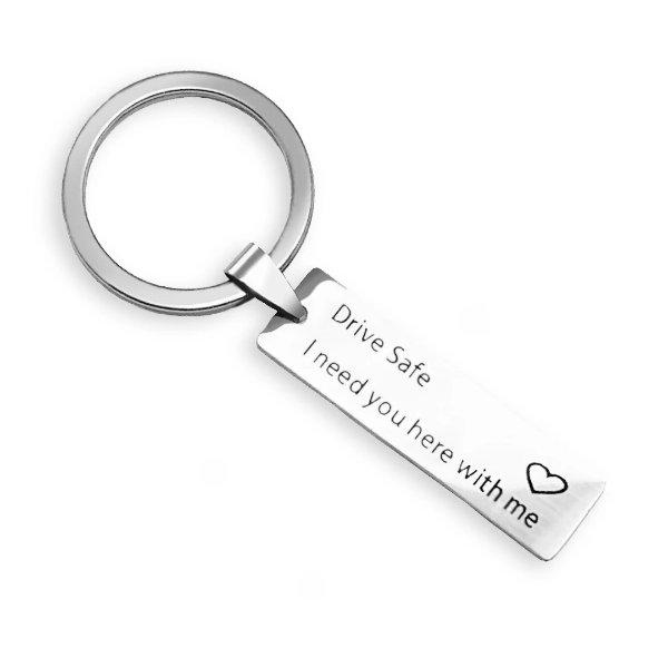 平安驾驶钥匙链
