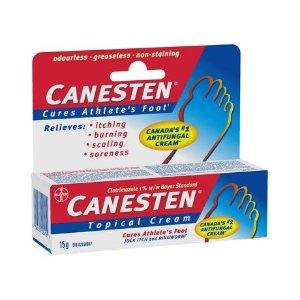 $11.37(原价$15.49)Bayer Canesten 德国拜耳 脚气灰指甲抗真菌软膏30g
