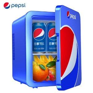 $89.99包邮Pepsi 车载 家用 4L 便携冰箱 两色可选