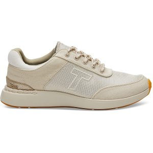 TomsBirch Canvas and Shiny Woven Women's Arroyo Sneakers