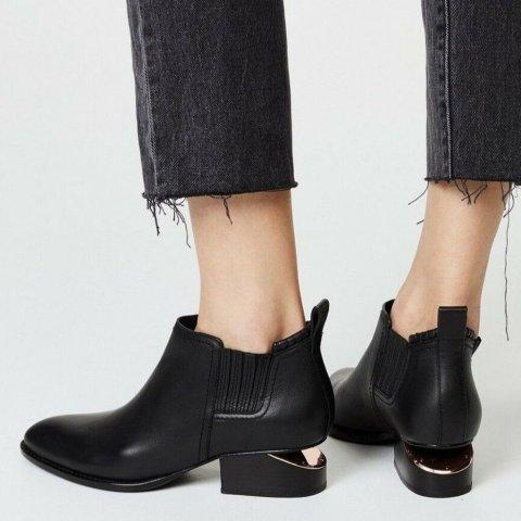 低至6折 $357收断根靴Alexander Wang 美靴、包包热卖 收经典断根靴