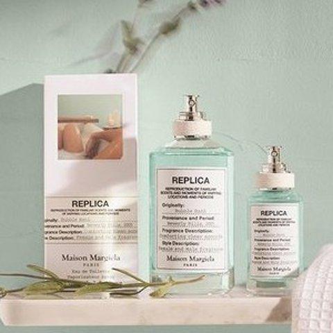 低至7.5折 €38收试管香3支装Maison Margiela REPLICA系列香氛 法式小清新 收最新款泡泡浴