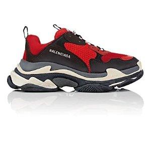 BalenciagaMen's Triple S 老爹鞋