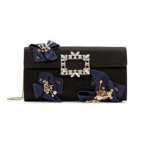 $1180(原价$2458)Roger Vivier 经典钻扣手拿包热卖 超高颜值