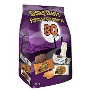 $9.99 (原价$16.99)Hershey's 好时 巧克力糖果 80小袋独立包装 1.17kg