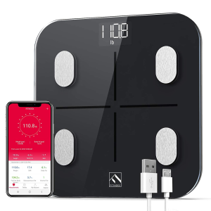 FITINDEX Smart Body Fat Scale, BMI Bathroom Scale