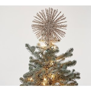 Pottery Barn KidsGold Tinsel Tree Topper