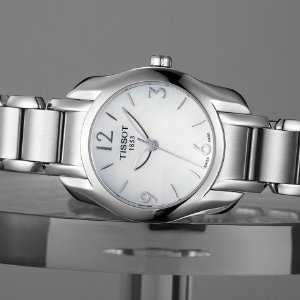 Lowest price TISSOT T-Wave Mother of Pearl Dial Ladies Watch T023.210.11.117.00