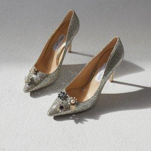低至4折+部分额外8.5折Jimmy Choo 美鞋热卖,收优雅低跟鞋