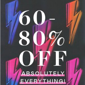 60-80% Off EverythingNasty Gal Women's Fashion Sale