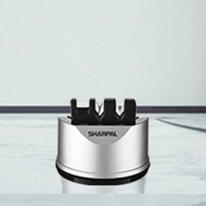 折后€13.59 剪刀也能磨SHARPAL 3段式磨刀器热促 让刀具锋利如初