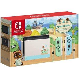 Nintendo第三方补货,仅剩5件Switch动森特别版主机