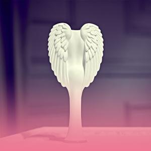 €8.25就收粉白配色 拥有柔顺秀发Tangle Angel 天使梳 有效减少拉扯短发 头发丝都少女心~