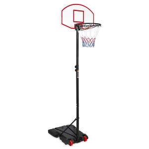 $44.99+包邮 高度可在6.5-8英尺调节史低价:儿童可调节篮球架 方便移动和固定 还能锻炼团队精神