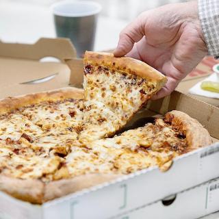 $9.99 超大尺寸 5种ToppingPapa John's Pizza 限时特惠 一张吃到饱
