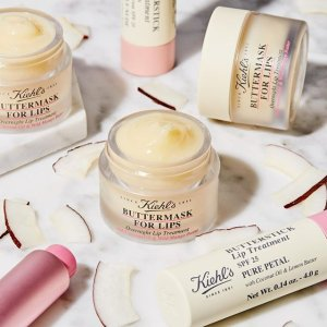 Receive 2 or more deluxe sampleswith any $50+ purchase @ Kiehl's