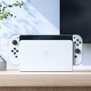 售价$449.99, 10月8日上市Nintendo 发布 全新版本Switch 内存翻倍 屏幕更大