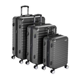 $138.19 (原价$199.99)AmazonBasics Premium 硬壳行李箱3件套,20/24/28寸