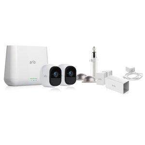 $249(原价$369) 低过预告黒五价:ARLO PRO 家庭安防监控系统 (2个摄像头)