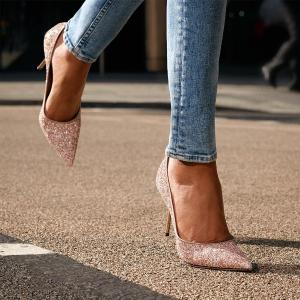 无门槛8折 £396收粉色星星鞋 码全Jimmy Choo 全线美鞋热卖 来一双好看的星星鞋