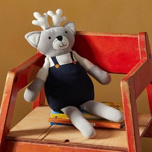 7折起 低至$9.99Simons 儿童房玩具/抱枕  $9收小狮子 $12收碎花小兔子