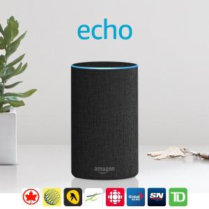 $89.99(原价$129.99)网络购物周特价!Amazon Echo 2代智能音箱
