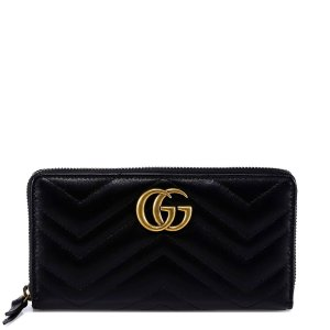 cf0a3e3a9 Gucci Double G Ankle Strap Sandals · GucciGG Marmont Wallet