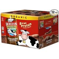 Horizon Organic 巧克力低脂有机奶 8oz 12盒