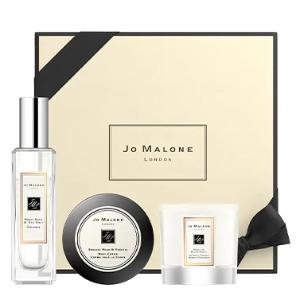 送香氛2件套 + 身体乳Jo Malone 经典香氛3件套 含英国梨、鼠尾草