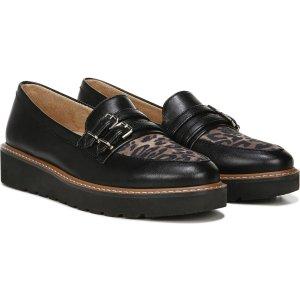 NaturalizerEIFFEL 豹纹厚底乐福鞋