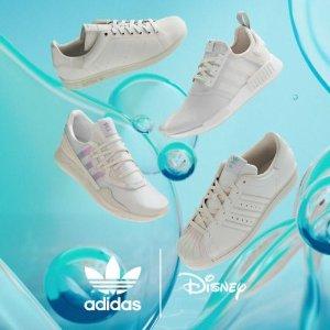 €100收鱼鳞设计Superstar上新:Adidas X Disney 小美人鱼系列 夏日必备清爽运动鞋款