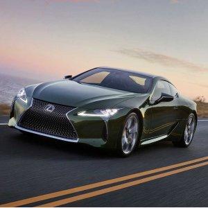 美国限量100台2020 Lexus LC 限量版双门跑车抢鲜发布