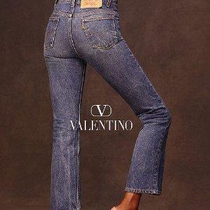 定价$1310起上新:Levi's x Valentino华伦天奴 合作款517牛仔裤