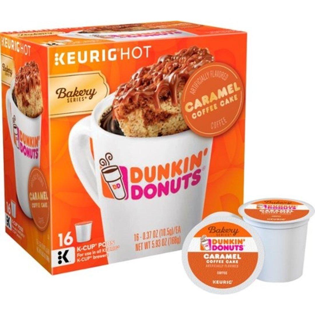 Caramel K-Cup 胶囊咖啡16个