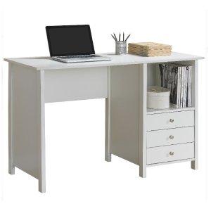 Walmart Techni Mobili Contempo Desk with 3 Storage Drawers
