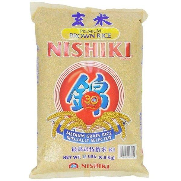 最高级优选糙米 15-Pounds Bag