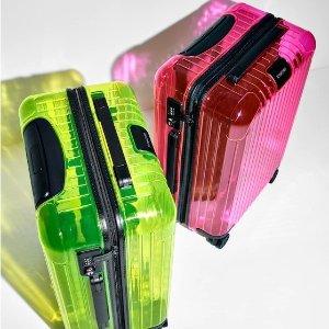 $820 同系列手机壳$90上新:RIMOWA Essential 霓虹系列官网限量发售 潮酷双色