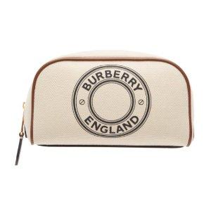 仅$226(原价$480)Burberry 新款印花手拿包 仅剩3只 变相4.7折