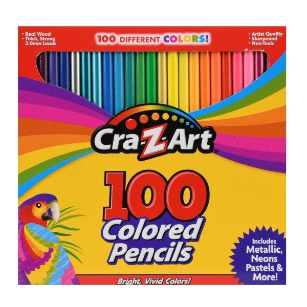100色彩铅