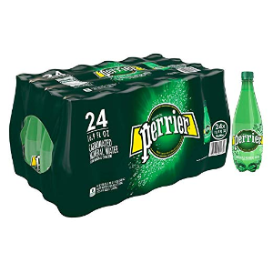 $14.19Amazon Perrier Carbonated Mineral Water, 16.9 fl oz. Plastic Bottles (24 Count)