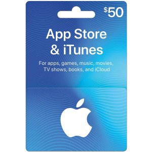 App Store & iTunes Gift Cards Email Delivery