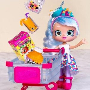 8折Shopkins 购物精灵过家家玩具 送给小公主的圣诞、新年礼物
