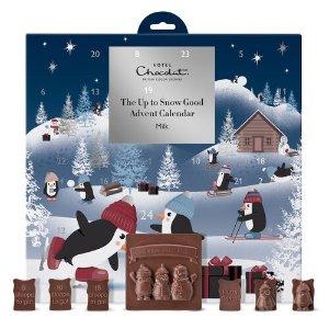 Hotel Chocolat或满£80减£20:STSMHCXMAS圣诞日历