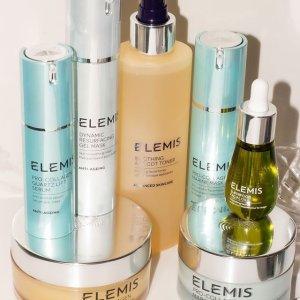 无门槛7.5折ELEMIS 精选护肤热卖 收骨胶原海洋面霜、三重酵素洁面