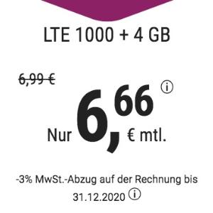 月租仅€6.66 免除€19.99接通费