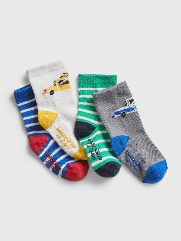 小童袜4双