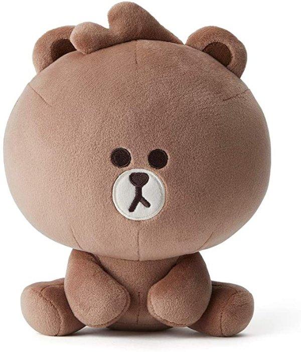布朗熊毛绒玩具